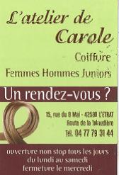 L'ATELIER DE CAROLE